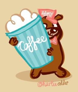 coffee bear