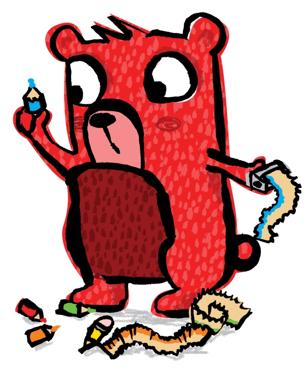 lawrence the red bear_published