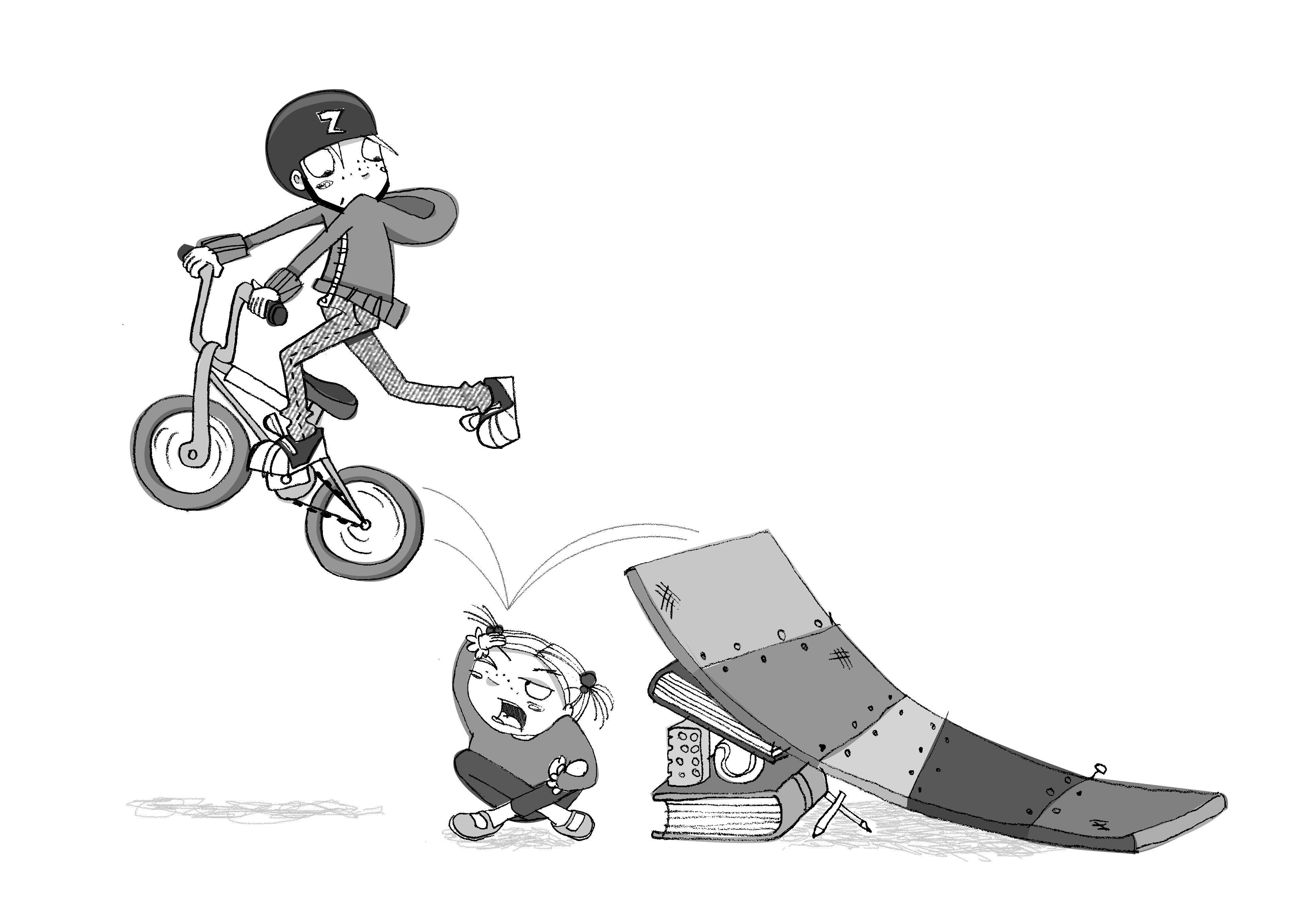 Stunt Boy Sketch Charlie Alder