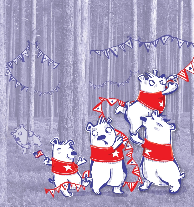 fourth of july bears